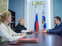 Министр просвещения РФ Ольга Васильева посетила Новгородскую область