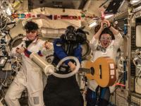 На МКС отметили Хэллоуин без облачения в костюмы монстров