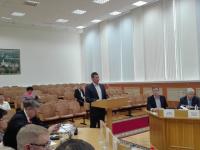 Претендент на кресло мэра Антон Кольчугин: «Важно поддерживать здоровый образ жизни в Великом Новгороде»