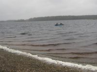 В Хвойнинском районе прекратили поиски рыбаков из Ленобласти