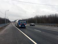 В Новгородской области на месяц раньше запланированного открыли мост на трассе М-10