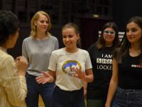 В Новгородском театре для детей и молодежи «Малый» идёт Зимний призыв волонтеров