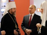 Владимир Путин побывал на выставке, в которой участвует и Новгородский музей-заповедник