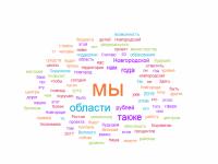 Выступление губернатора Новгородской области проанализировали с помощью программы облака слов