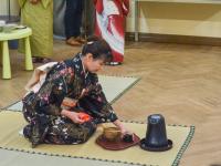 Японские актеры провели для новгородцев традиционную чайную церемонию