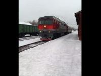Из Угловки отправился первый пригородный пассажирский поезд в Боровичи