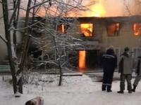 На пожаре в Пестове пострадали четверо. Погорельцы временно размещены в доме культуры