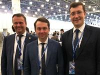 Накануне запуска поезда между Новгородами губернаторы Никитины встретились в Москве