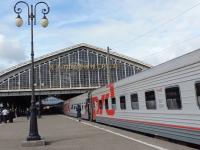 Сегодня на новгородском вокзале впервые остановится поезд Санкт-Петербург - Калининград