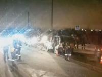 У Синего моста в окрестностях Великого Новгорода произошло ДТП с гибелью человека