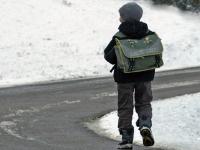 В Великом Новгороде неизвестный водитель переехал школьнику ногу и скрылся