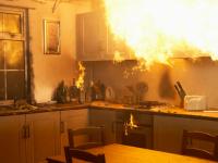 В Великом Новгороде вновь горела квартира в Западном районе