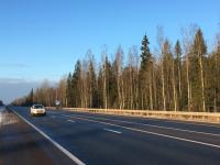 За 2018 год в Новгородской области отремонтировали 21 км трассы М-10