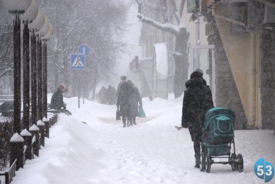 В Новгородской области ожидается сильный снегопад