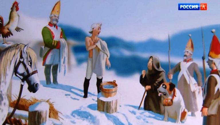 Этим летом «Союзмультфильм» выпустит в прокат анимационную комедию о полководце Суворове