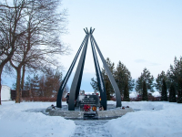 Делегация из Якутии посетила мемориал воинам-якутянам, погибшим на озере Ильмень