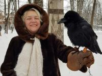 Фанаты Горшка зауважали новгородского ворона Топу