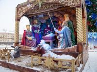 Фоторепортаж: как новгородцы праздновали Рождество Христово