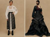 «Крестецкая строчка» участвовала в модном показе Ульяны Сергеенко в Париже