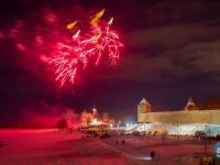 Мгновения праздничного салюта в фотографиях Александра Парамонова