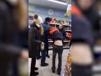 Новгородские журналисты после драки в «Пятерочке» попробовали в ней что-то «украсть»