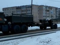 Сегодня в Великий Новгород вошла военная техника