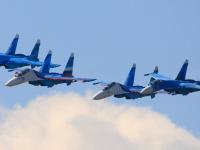 «Соколы России» исполнят в Великом Новгороде фигуры высшего пилотажа, включенные в программу впервые