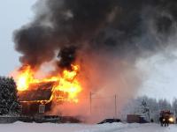 Стали известны подробности пожара в валдайском Зимогорье