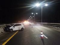 В Новгородской области из-за метеоусловий два человека пострадали в аварии на М-11