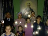 В Пестовском районе священнослужители борются за безопасность на дорогах