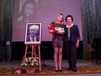 Запоздалая, но очень приятная новость от новгородской певицы Анжелики Дерковской. Гордимся!