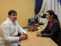 Алексей Тарасов стал и.о. главврача Центральной больницы Великого Новгорода
