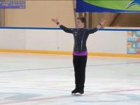 Андрей Мозалев завоевал золотую медаль Кубка России по фигурному катанию среди юношей