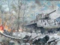 День за днем: 23 февраля. Снежный танк и ледяная река
