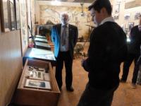 Для замвоенкома Новгородской области в гимназическом музее Волховского фронта провели урок на немецком языке