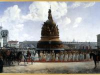 Картину «Открытие памятника Тысячелетию России в Новгороде» сняли с экспозиции
