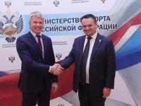 О чём договорились губернатор Андрей Никитин и министр спорта Павел Колобков?