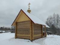 Крестецкие десантники построили часовню в деревне Мокрый Остров