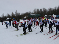 Лыжная гонка открыла V спартакиаду Новгородской областной федерации профсоюзов