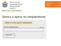 На сайте новгородского минздрава вновь работает онлайн-запись к врачу
