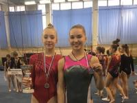 Новгородские гимнастки завоевали серебро Всероссийских соревнований