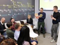Новгородцы в борьбе за грант представили бизнес-проекты в пространстве «Точки кипения»