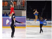 Определились лидеры среди пар после коротких программ на Кубке России по фигурному катанию