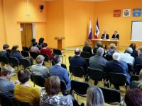 Парфинцы подняли перед Юрием Бобрышевым вопрос про «рога и копыта»