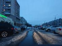 Сегодня в Великом Новгороде предпримут еще одну попытку вывезти снег из кармана по проспекту Мира