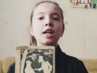 Школьница из Малой Вишеры вошла в видеокнигу Года Литературы с басней Крылова «Крестьянин и смерть»