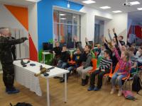 СОБР заглянул в детский технопарк «Новгородский Кванториум»