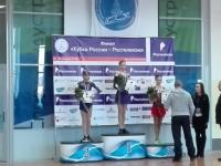 Среди девушек на Кубке России по фигурному катанию безоговорочную победу одержала Майя Хромых
