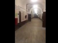 Студент заснял на видео начало обрушения перекрытий в ИТМО