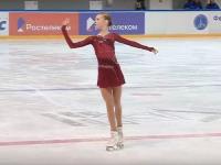 Ученица Тутберидзе лидирует после короткой программы на Кубке России по фигурному катанию